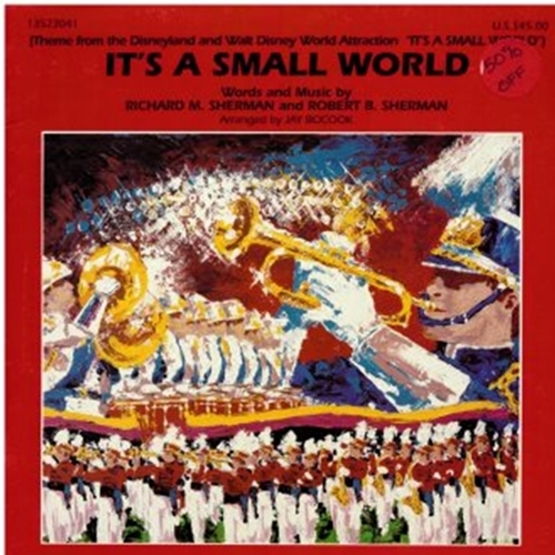 It's A Small World - Marching Band